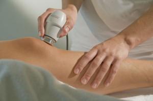 Elektro--und-Ultraschalltherapie